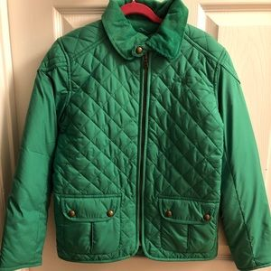 NWT Ralph Lauren Quilted Fall/Spring Child Jacket